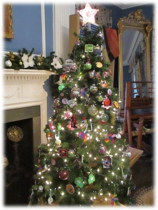 Festival of Trees at Hancock House Museum