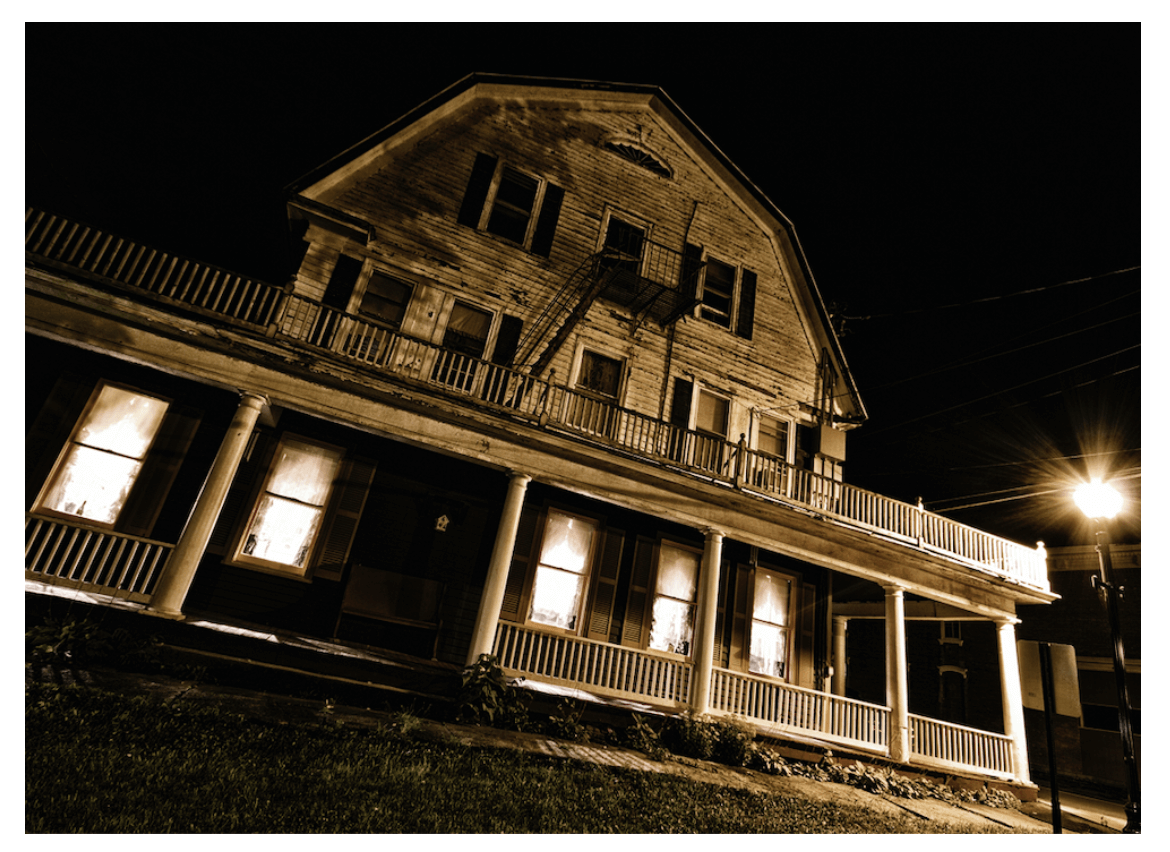 The Shanley Hotel on The Haunted History Trail of New York State. (Photo Credit: @AmityPhotos)