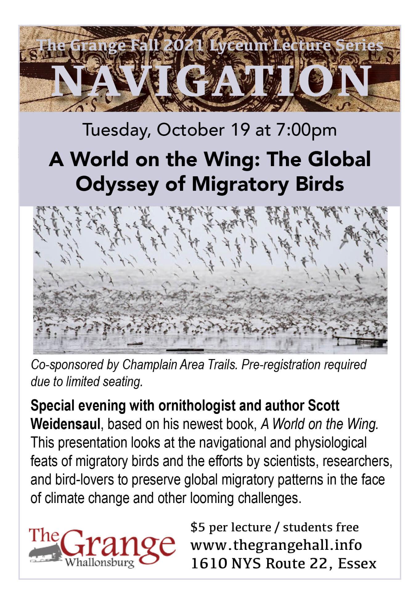 Oct 19 Birds Lyceum Flyer